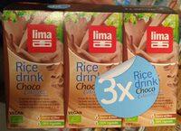 Boisson au riz. Chocolat - Product