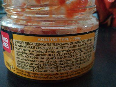 Salsa dip - Ingredientes