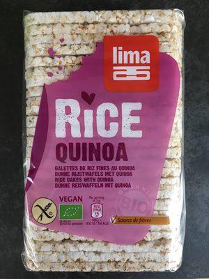 Galettes de riz fines au quinoa - Product - fr