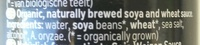 Mild Shoyu - Ingredients
