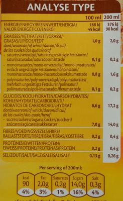 Spelt épeautre drink natural - Nutrition facts - fr