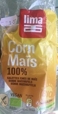 Galettes fines de maïs - Produit - fr