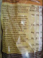 Galettes fines de maïs - Informations nutritionnelles - fr