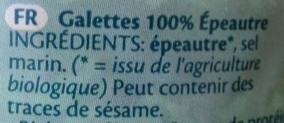 Spelt épeautre Dinkel - Ingrédients - fr