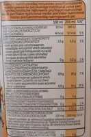 Spelt - Boisson à base d'épeautre bio - Nutrition facts - fr