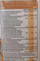 Épeautre calcium - Informations nutritionnelles - fr