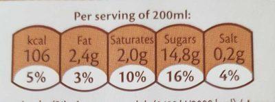 Rice Drink Coco - Voedingswaarden