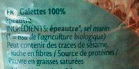 Spelt épeautre Dinkel - Ingrediënten - fr