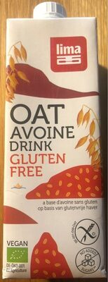 Oat Avoine Drink gluten free - Produit - fr
