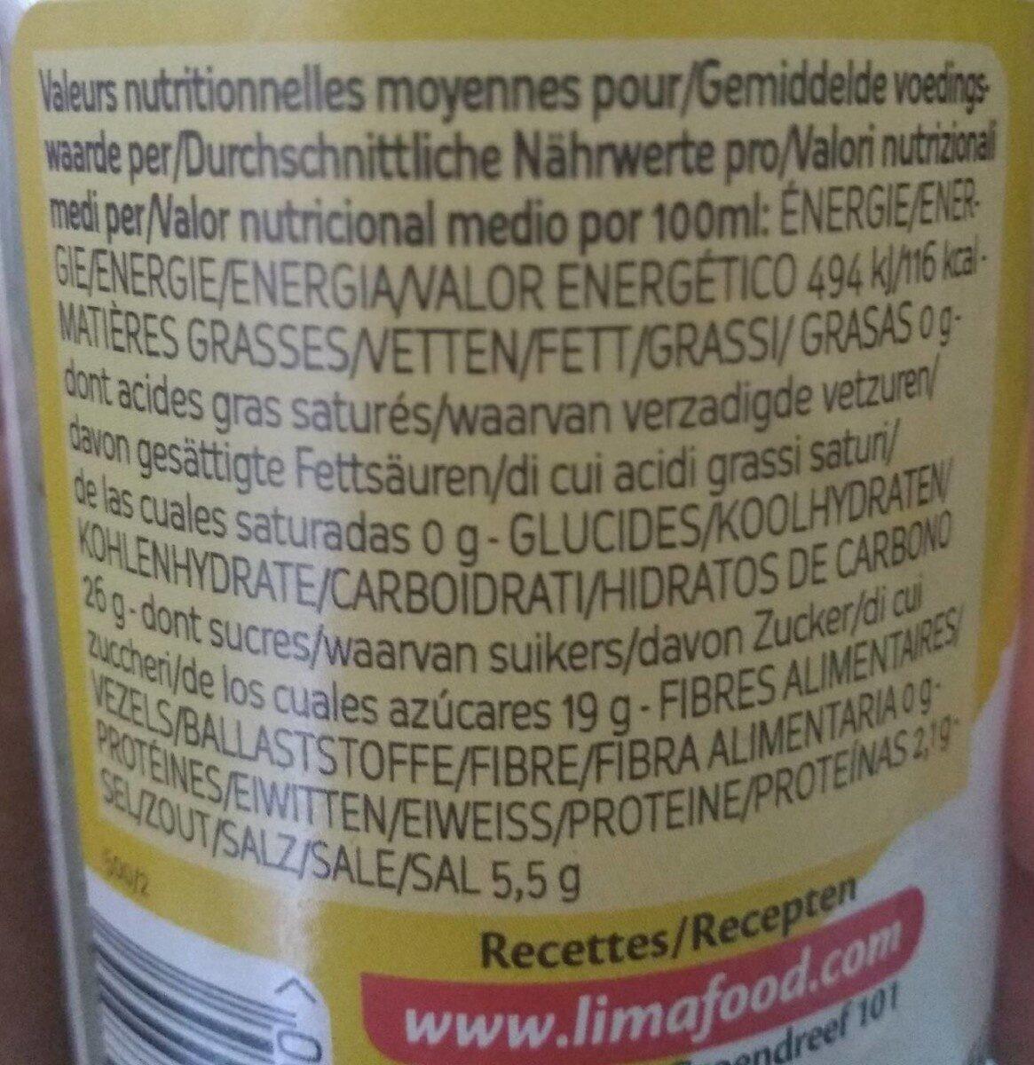 Ginger thai - Voedingswaarden - fr