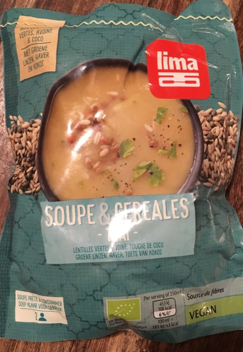 Soupe & Cereales Thaï - Produit - fr