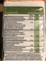 Protein lentils - Nutrition facts - en
