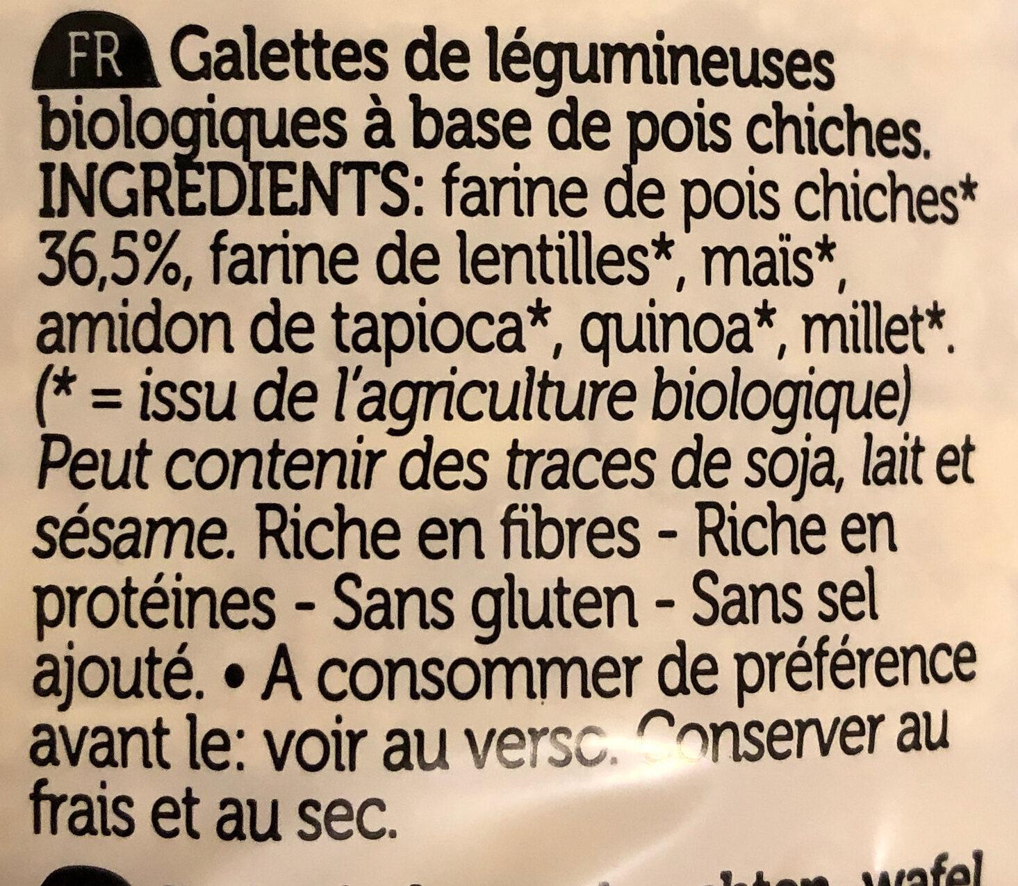 Protéines pois chiches - Ingredients - fr