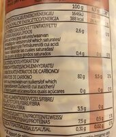 Corn Mais Flaxseeds Graines de lin - Informations nutritionnelles - fr