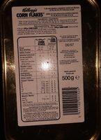 Toasted- Corn Flakes - Voedingswaarden