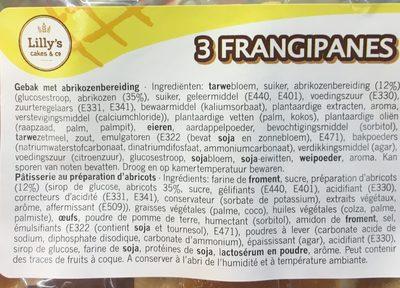 Frangipanes - Ingredients