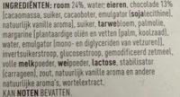Éclairs Pâtissiers Nappés au Chocolat Belge - Ingrediënten - nl