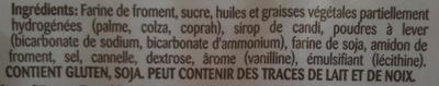 Les Recettes Authentiques - Spéculoos Fourré - Ingrédients - fr
