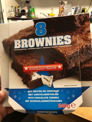 Brownies Double Choc - Product - fr