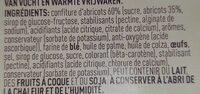 Poppies Apri'co 15X175G 8 Pièces - Ingrédients - fr