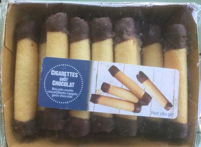 Cigarettes goût chocolat - Produit