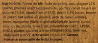 Micro donuts choc - Ingrédients - fr