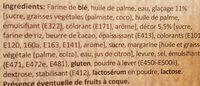 4 mini donut's - Ingrédients - fr