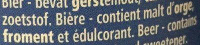VanderGhinste Roodbruin - Ingredients - fr