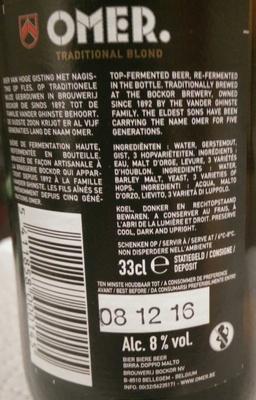 Beer - Ingredients - en