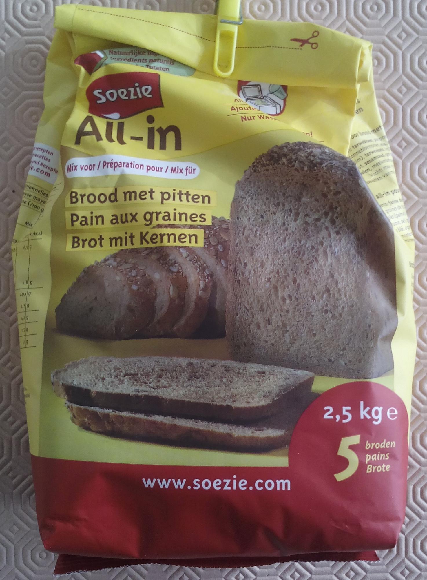 Préparation pour Pain aux Graines - Product