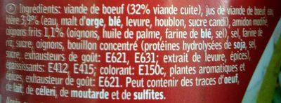 Carbonnade Flamande à la Bière - Ingrediënten