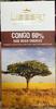 Congo 60% Dark Origin Chocolate - Produit