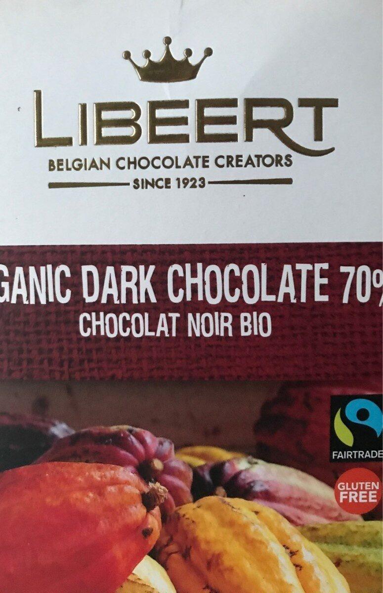 Organic Dark Chocolate 70 % - Informations nutritionnelles - fr