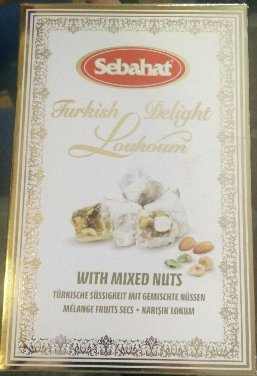 Turkish delight loukoum - Product - fr