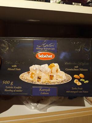 Lokoum Mixte Luxe 6 X 500 GR Sebahat - Product - en