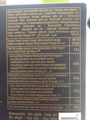 Lokoum Mixte Luxe 6 X 500 GR Sebahat - Ingredients - fr