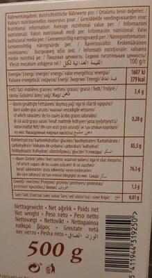 Lokoum Mixte Luxe 6 X 500 GR Sebahat - Nutrition facts - fr