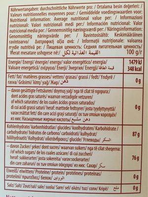 Loukoum - Nutrition facts - fr