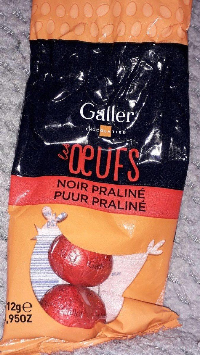 Les oeufs noir praliné - Produit - fr