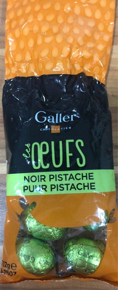 Oeufs noir pistache - Produit - fr