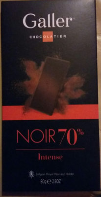 Galler noir 70% Intense - Product