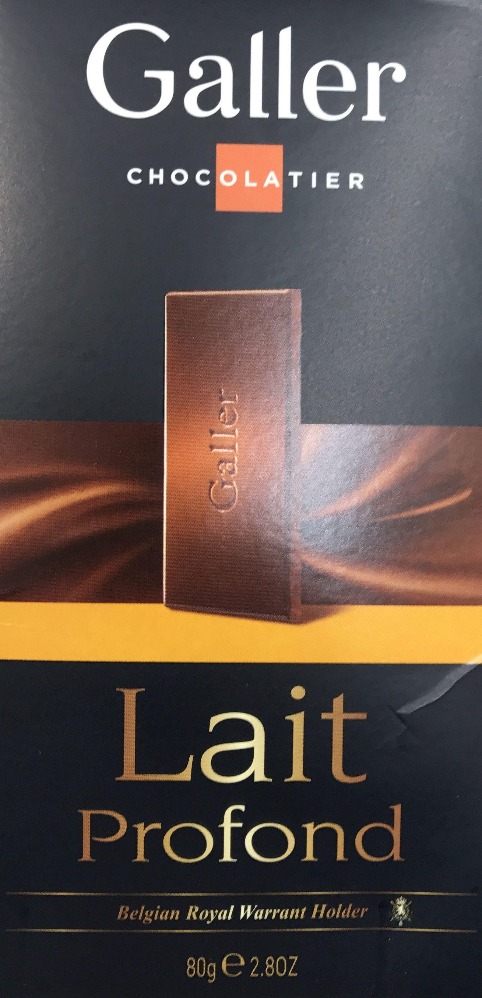 Tablettes Lait Profond 80G - Produit