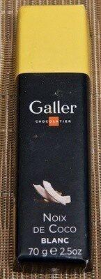 Bâton Galler Noix de coco-Blanc - Product - fr