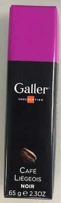 Bâton Galler Café Liégeois-Noir - Produit