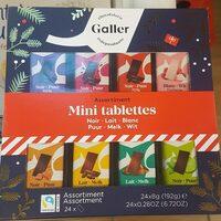 Assortiment Mini Tablettes - Produit - fr