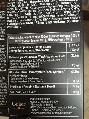 Les mini's bâtons - Ingrediënten - fr