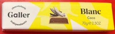 Chocolat Blanc Coco - Produit - fr