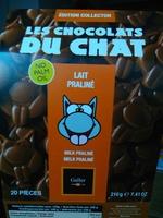 les chocolats du chat lait oraliné - Product