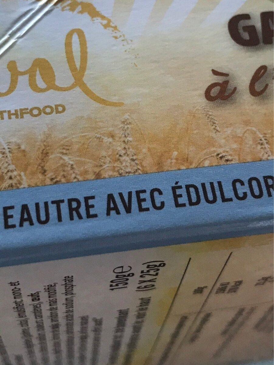 Ceval speltwafels - Voedingswaarden - fr