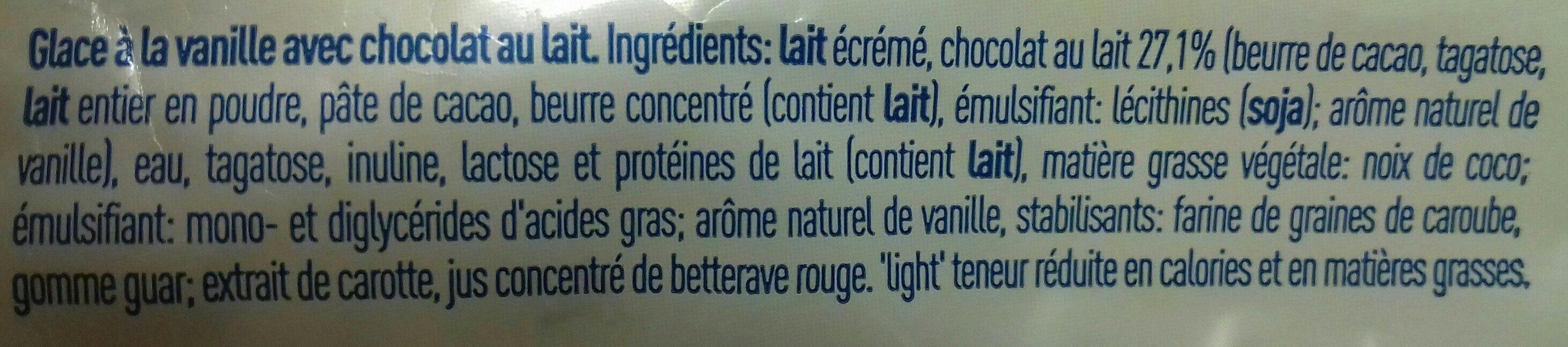Icy light vanille stick - Ingredientes - fr
